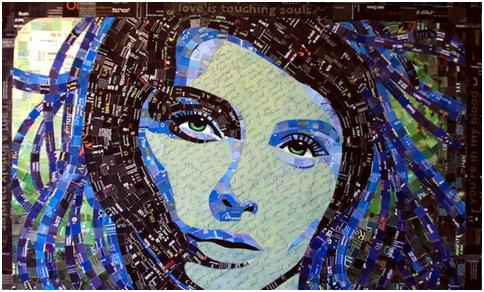 Trik Membuat Mozaik Foto untuk Hiasan Dinding